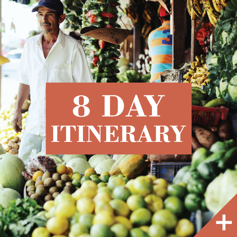 8 day itinerary tour Tastefully Nicaragua
